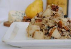 Gorgonzolás rizottó friss körtével és dióval recept képpel. Hozzávalók és az elkészítés részletes leírása. A gorgonzolás rizottó friss körtével és dióval elkészítési ideje: 30 perc