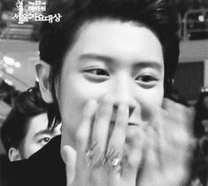 Chanyeol :3 (GIF) I want his ring...actually, I'll just take the while package!