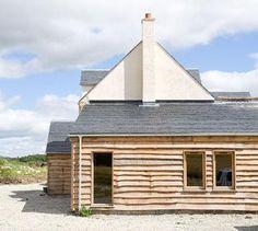 pete cummins architect / fife / scotland / extensions / houses / timber frame design /