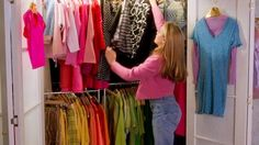 Essential tips for a more organized closet - inspired by everyone's favorite fashionista, Clueless' Cher Horowitz.