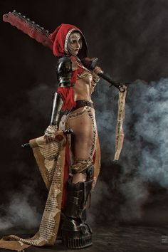Check out these Best Anime Cosplay costume at this Expo. Great pictures of their costumes. Warhammer Fantasy, Warhammer 40k Art, Witchblade Cosplay, Anime Cosplay, Best Cosplay, Fantasy Battle, Fantasy Warrior, Fantasy Characters, Female Characters