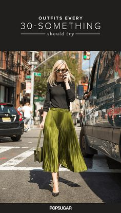 What to Wear in Your 30s | POPSUGAR Fashion