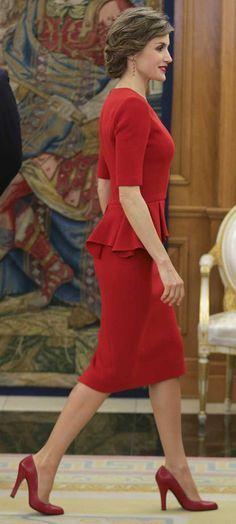 Image result for queen letizia dresses 2016