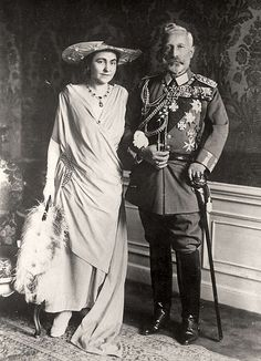 KAISER WILHELM II AND HIS SECOND WOFE HERMINE VON REUSS | Flickr - Photo Sharing!