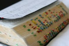 A site dedicated to Scripture Marking/Study--scripture chains, so many ideas...