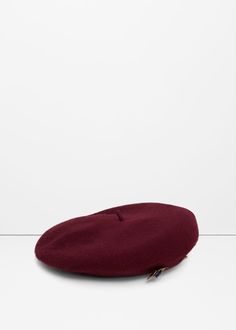 Beads wool beret - Hats and gloves for Women | MANGO USA