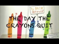 Story read aloud: The day the crayons quit - YouTube