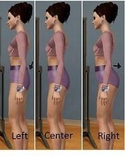 Mod The Sims - Body Shape Sliders