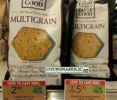 Food Should Taste Good Chips only $1 at Publix after Stacked Coupons and Sale!