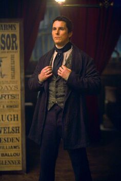 Christian Bale as Alfred Borden in The Prestige. - steampunk