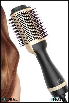 Hair Dryer Brush, Hair Brush Straightener, Blow Dry Brush, Beauty Uk, Dry Brushing, Airbrush, Curls, Air Brush Machine, Drybrush