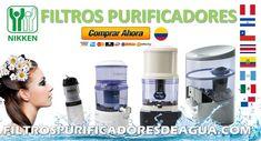 DISPENSADOR FILTRO PURIFICADOR DE AGUA NIKKEN 2020 Water Filters, Drinking Water, Yellow Pages, Bottled Water, Water Benefits