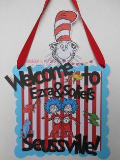 Dr Seuss Door Sign on Etsy, $14.00