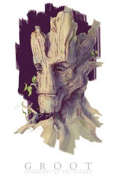 #I am Groot #Je s'appelle Groot
