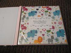 DIY: Baby Memory Book! - baby, i'm hooked.
