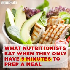 What Nutritionists Eat When They Only Have 5 Minutes to Prep a Meal | Women's Health Magazine