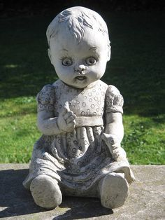 Baby Doll garden ornament