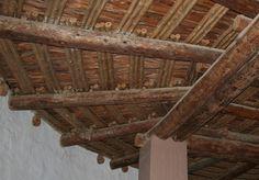 Aztec Ruin, Roof of restored Great Kiva