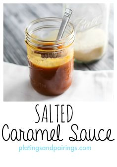Salted Caramel makes anything AMAZING! Top pretzels, apples, pies, etc. LOVE IT! platingsandpairings.com