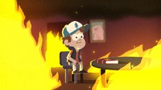 blue-staple:  This is fine…. I'm trying to cope with Gravity Falls being done forever…. I'll be fine…