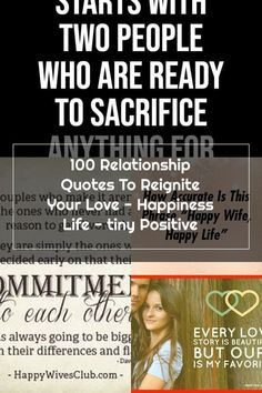 100 Relationship Quotes To Reignite Your Love - Happiness Life - tiny Positive Happy Wife Quotes, Happy Life, Relationship Quotes, The 100, Happiness, Positivity, Love, The Happy Life, Amor