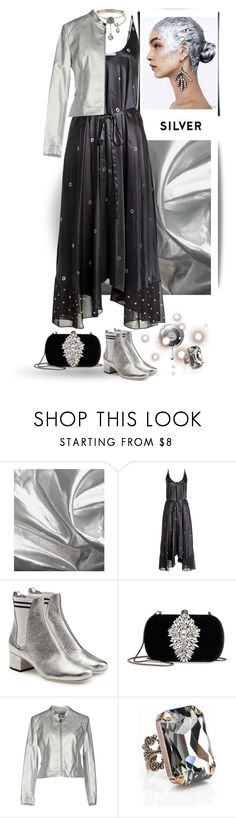 """""""Fall night life #two"""" by gagenna ❤ liked on Polyvore featuring T By Alexander Wang, Fendi, Badgley Mischka and Paolo Casalini"""