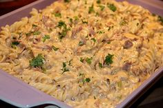 Meat Recipes For Dinner, Snack Recipes, Bacon, Everyday Food, Vegetable Dishes, Food Videos, Macaroni And Cheese, Main Dishes, Food And Drink