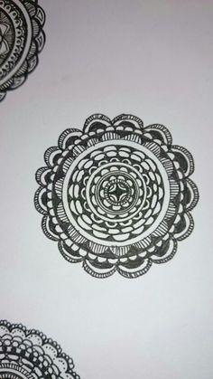 my zentangle circle⑤