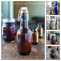Homemade Vanilla Extract - Mindlessly easy & so much cheaper & more flavorful than buying storebought vanilla!