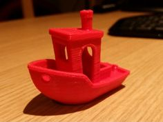 #3DBenchy - The jolly 3D printing torture-test by V4N