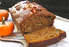 From Which Things Grow: Chew on This   Pumpkin Pear Bread