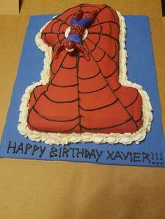 Spiderman Cake Fondant Cakes, Spiderman, Desserts, Food, Spider Man, Tailgate Desserts, Deserts, Essen, Postres