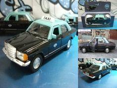 coche/voiture/car táxi do Porto (Portugal) Mercedes-Benz 230E 1985  Welly 1:38