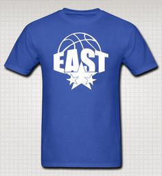 "NBA All-Star Game Eastern Conference Fan T-shirt by AllStarGear Use code ""ASG10PINS"" for 10% off your purchase."