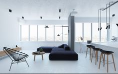 RiverS Apartment by Emil Dervish