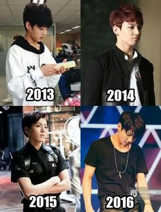 His cute baby face is gone now...! But he's still good looking