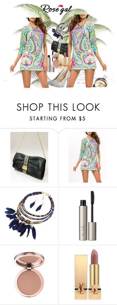 """""""Rosegal"""" by zijadaahmetovic ❤ liked on Polyvore featuring Ilia, Chanel and Yves Saint Laurent"""