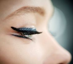 The Retro Statement Eyes| Christian Dior Cruise 2015 #makeup #Resort2015