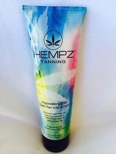 cool Hempz Hypoallergenic Dark Tan Maximizer Indoor Tanning Bed Lotion by Supre - For Sale Check more at http://shipperscentral.com/wp/product/hempz-hypoallergenic-dark-tan-maximizer-indoor-tanning-bed-lotion-by-supre-for-sale/