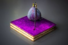 Millefeuille Vanillé au Figue by Pâtisserie-Chocolaterie by POP https://www.facebook.com/popchocolatier?fref=ts