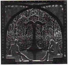 """"""" Im Tempel Der Zweieinheit"""" - Hugo Reinhold Karl Johann Höppener. 1914."""