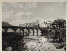 1931 Photogravure Bridge Rio Choluteca River Tegucigalpa Honduras Architecture Tegucigalpa, Honduras, Central America, South America, Heart Of America, Water Damage, West Indies, Homeland, Original Image