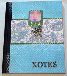 altered notebook