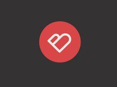 B In Love #logo #dribbble