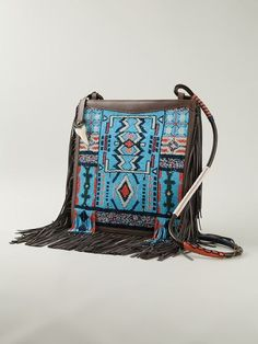 Etro Beaded Fringed Bag - Luisa World - Farfetch.com