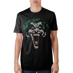 "Joker Object Fill Mens Black T-Shirt ""Ships From USA"""