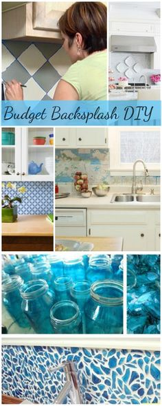 DIY Budget Backsplash Projects • Ideas & Tutorials!