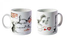 Graffiti Mug - For owning a mug which says mera malik chor hai. Click on the image to buy.