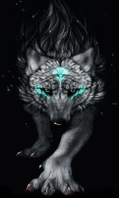 wolf: A power animal symbolic of freedom Wolf power or spirit animals point to an appetite for freedom and living life powerfully, guided by instincts. I searched for this on /images Wolf Tattoos, Wolf Spirit, Spirit Animal, Fantasy Wolf, Fantasy Art, Fenrir Tattoo, Wolf Pictures, Beautiful Wolves, Anime Wolf