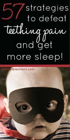 57 Strategies to Defeat Teething Pain and Get More Sleep! Every tip on the planet - homemade DIY, all natural remedies, even OTC medications www. Healthy, white teeth are a very import Baby Teething Symptoms, Baby Teething Remedies, Teething Babies, Teething Relief, Natural Sleeping Pills, Baby Sleep, Baby Baby, Baby Girls, Baby Health